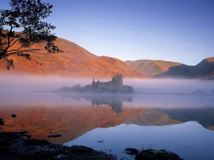 Kilchurn Castle, Loch Awe, Scotland: Bucket List, Favorite Places, Loch Awe, Places I D, Castle Scotland, Castles, Beautiful Place, Travel