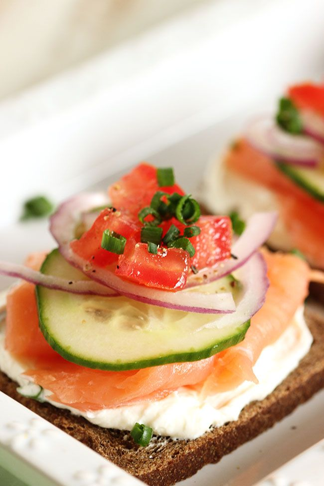 about Salmon Canapes on Pinterest | Smoked salmon canapes, Canapes ...