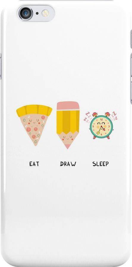 Eat, Draw, Sleep by Adrian Serghie