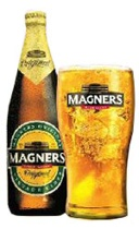 Commercial cider made with a controlled yeast then pasteurised and artificially carbonated.   Sold as Bulmers in Ireland and as Magners in the rest of the world for legal reasons.