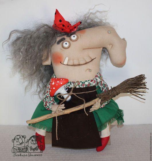 Коллекционные куклы ручной работы. Заказать Бабка Ёжка - Нос Картошкой. Эльвира…