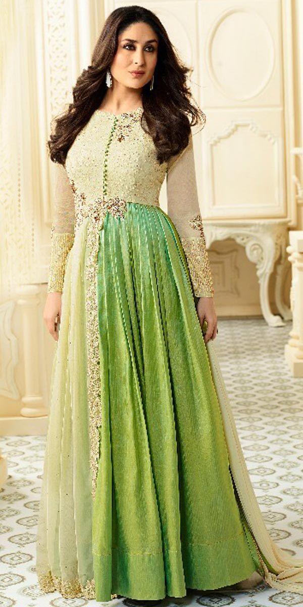 Designer Georgette Anarkali Suit.