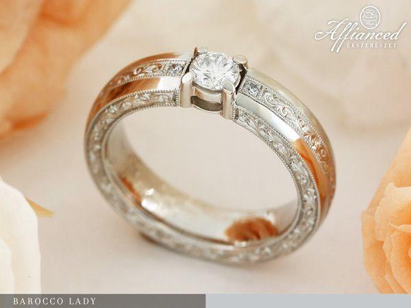 Barocco Lady – eljegyzési gyűrű