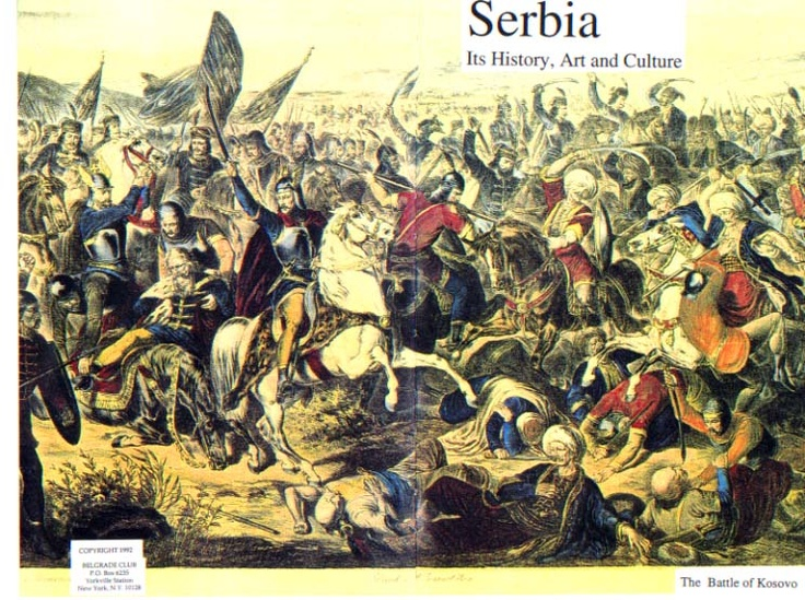 The Battle of Kosovo, also known as the Battle of Kosovo Field or the Battle of Blackbird's Field (Serbian: Косовска битка, Бој на Косову; Kosovska bitka; Boj na Kosovu; Turkish: Kosova Meydan Savaşı), took place on St. Vitus' Day, June 15,[A] 1389, between the army led by Serbian Prince Lazar Hrebeljanović, and the invading army of the Ottoman Empire under the leadership of Sultan Murad I.