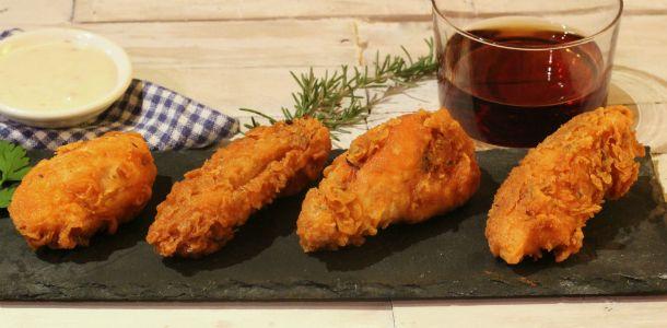 Receta de pollo estilo kentucky. Carnicería online carne villa maria.