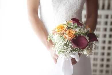 colorful Romantic Bouquet by Simmi Floral Design