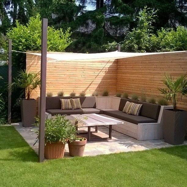 Garten Garten Sitzecke Gestalten Ideen Fur Kleine Und Grosse Garten In 2020 Sitzecken Garten Terassenideen Holzideen Garten