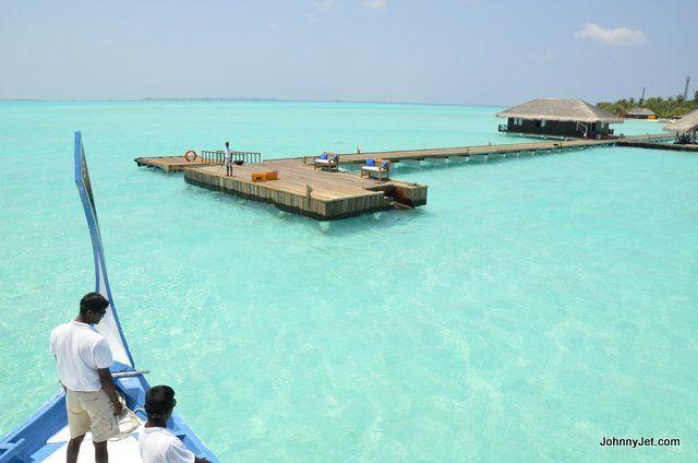 Taj Exotica Resort in the Maldives