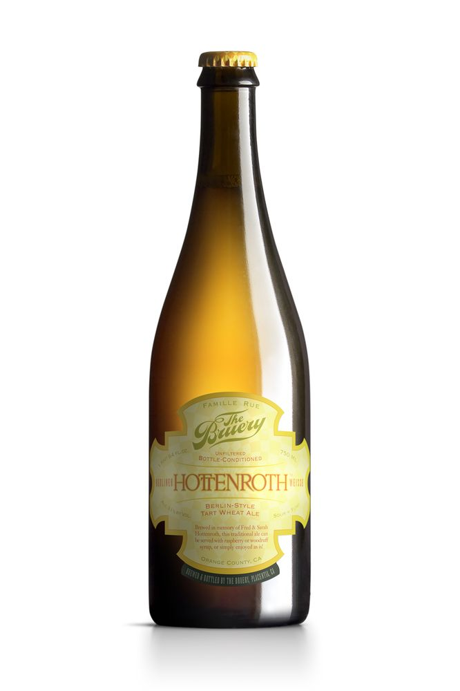 The 13 Best Craft Beers To Serve At Your Wedding - The Bruery Hottenroth