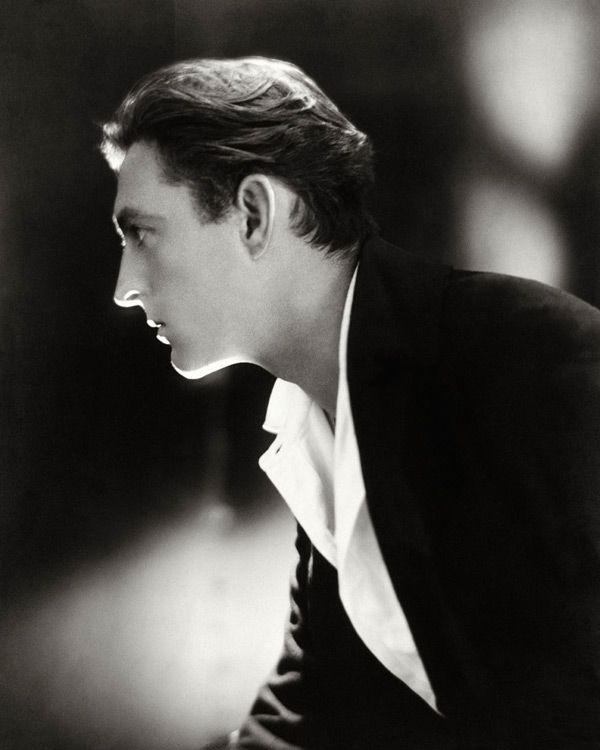 John Barrymore (1882-1942) - American actor of stage and screen. photo by Adolph De Meyer, 1920