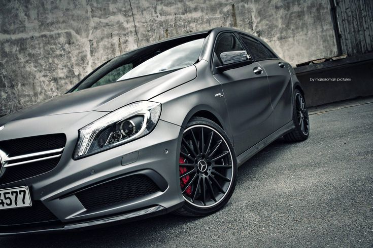 Mercedes-Benz A 45 AMG. Photo by Mario Roman Pictures.   Fuel consumption combined: 9.1 - 6.9 l/100km, CO2-emission combined: 165-161 g/km. http://mb4.me/Efficiency-Statement/