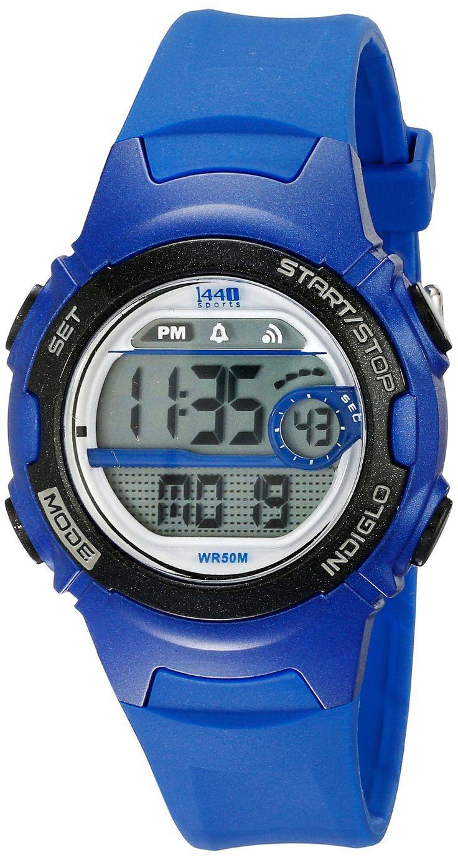 Timex Women's Blue Resin Digital Watch T5K596 1440