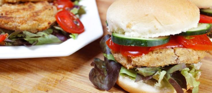 burger di fagioli borlotti vegan
