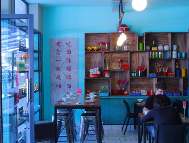 The People's Republic of Noodles (PRON) in Linden, Johannesburg is the place for hand-made, high-quality Chinese noodle dishes in a contemporary but relaxed atmosphere.