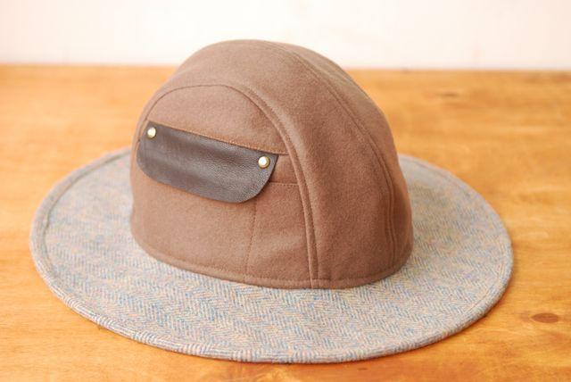 Ladies winter hat.  Winter Lulu // Camel-Sky  The Brim Label