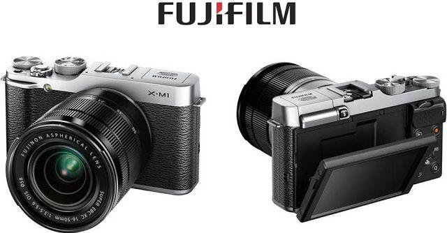 #FUJIFILM lance le X-M1, un nouveau compact hybride discret et léger à objectifs interchangeables