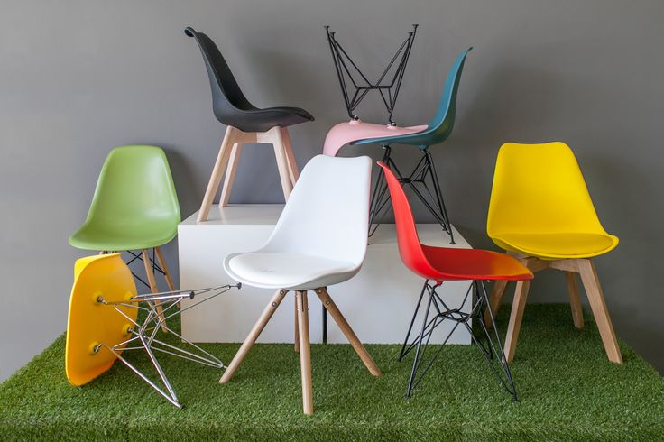 """We never go out of style"" - Eames Chairs  Shop these chairs here http://bit.ly/u3-seating"