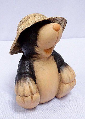 Keramik Maulwurf Deko Figur Lustige Gartenfigur Maulwurf Mit