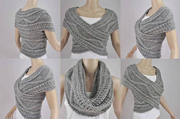 Связать шарф спицами— первостепенная задача для любой начинающей мастерицы. Предлагаем не останавливаться и создать аксессуар, более стильный и современный. Шарф-трансформер— разработка западных диз…