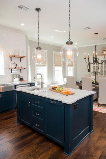 Fixer upper old world charm for newlyweds first home for Kitchen ideas joanna gaines