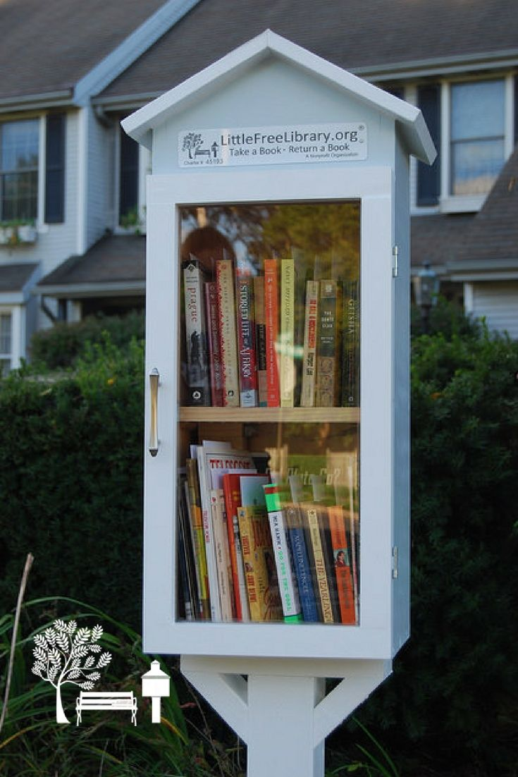 An awesome, double-decker Little Free Library Book Exchange stewarded by Christy and Eric L. in Fleetwood, PA.