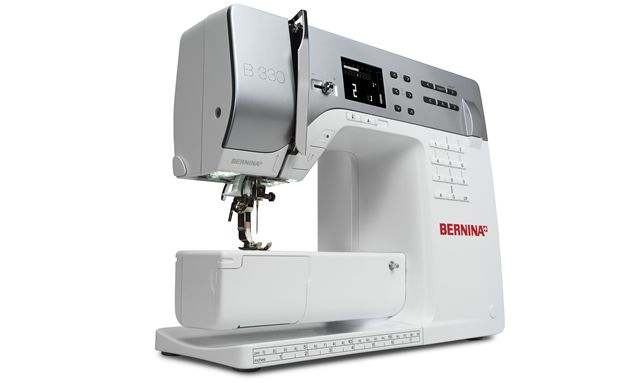 BERNINA 330 – the entry-level model - BERNINA