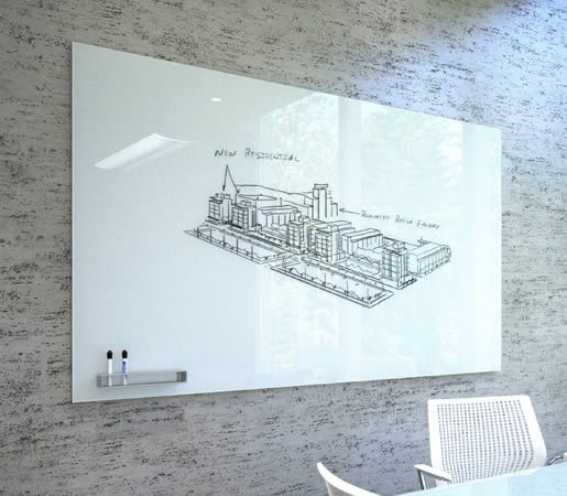 How To Build A Whiteboard Wall