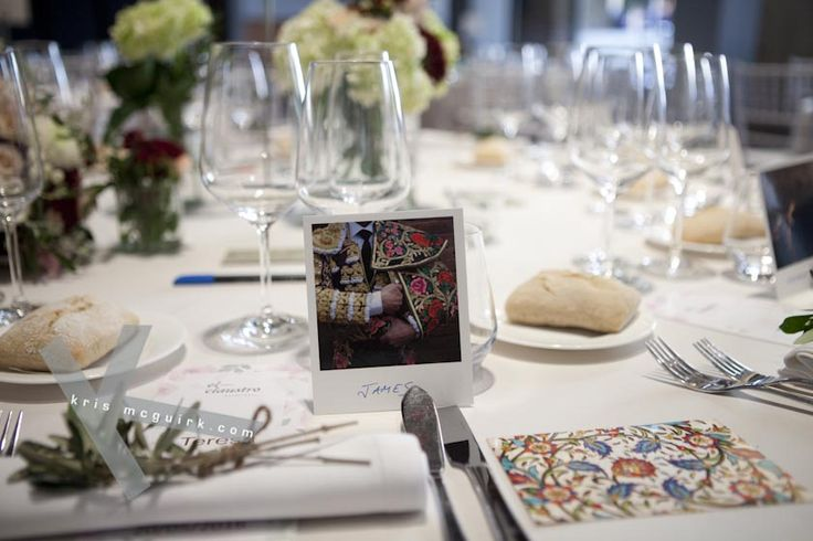 Creative way to help your guests finding their sea. Destination wedding photography by Kris McGuirk.
