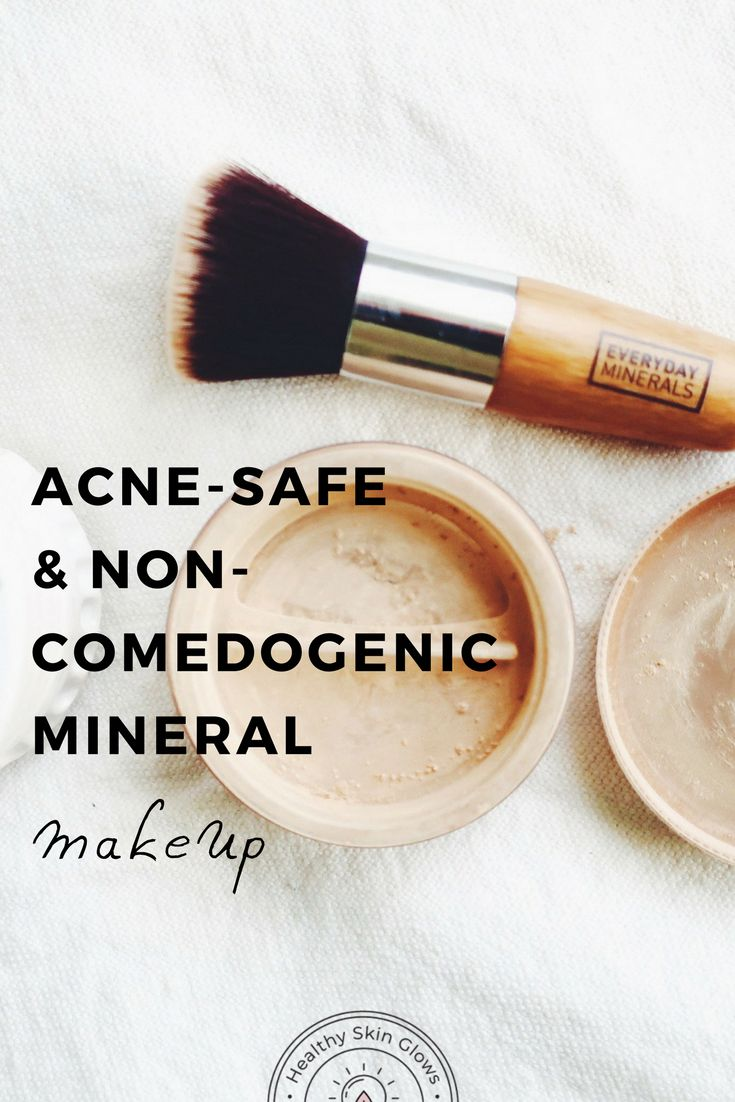 Not sure which makeup is safe to use on acneprone skin