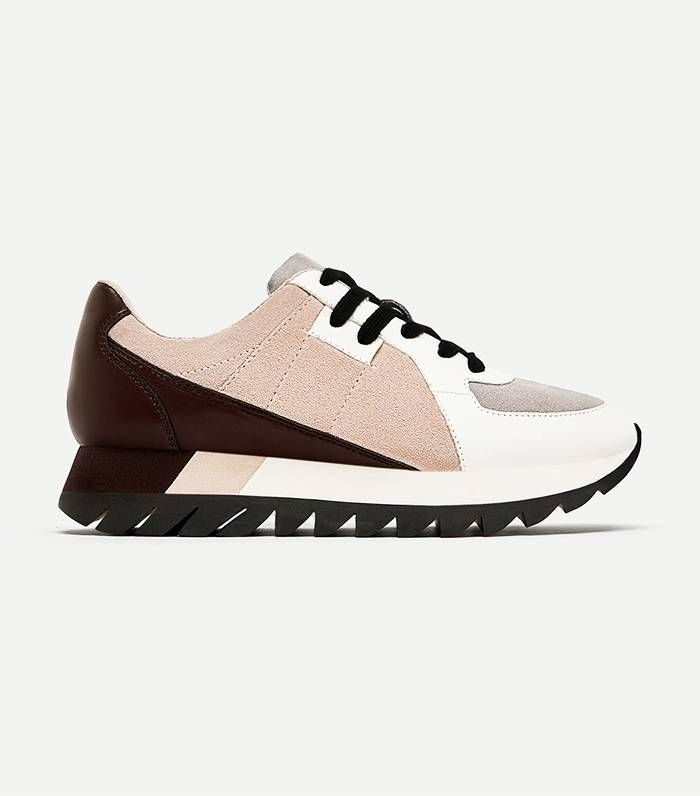 9c6eb242e05287 Zara has officially brought us its latest sneaker trend. Find out what the  retailer came up with this time and expect to see this style everywhere in  2018.