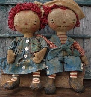 Past Tyme Playmates by Sweet Meadows Farm (Maureen Mills)