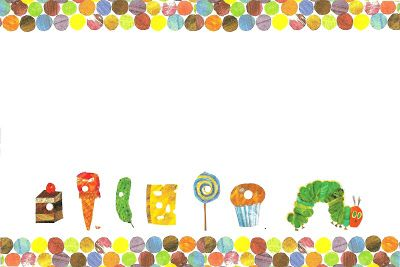 Free very hungry caterpillar invitation template with for Very hungry caterpillar templates free