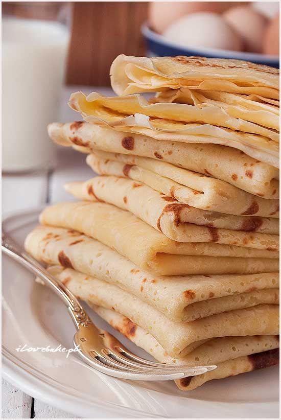 Buttermilk crepes - simple recipe / Naleśniki na maślance - przepis