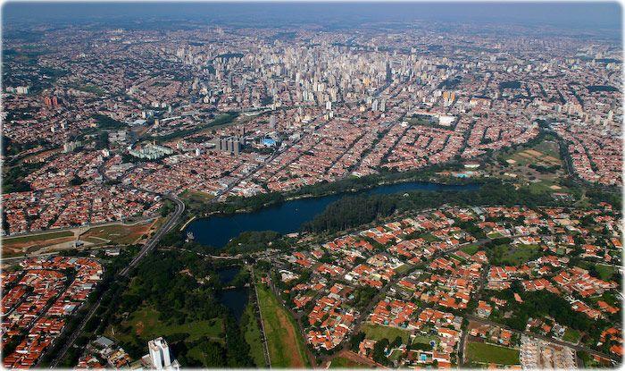 Campinas, Aerial view