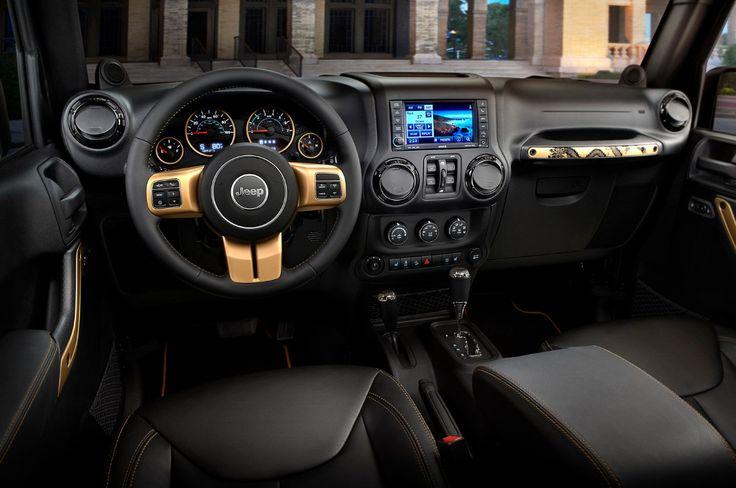 jeep rubicon interior - Jeep Rubicon 2015 Capable at Every Step – Avto Today
