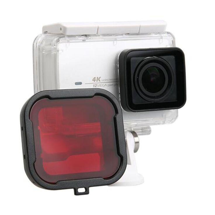 Xiaomi Yi 4K uv Filter Lens Voor xiaomi yi 2 Action Camera Accessoires Duiken Beschermende UV Cirkel Spiegel Cover