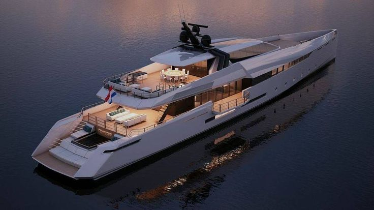 The Ghost G180F is a high-performance superyacht developed by Ghost Yachts in conjunction with Feadship. She is expected to have a top speed of 29 knots and a range of 4,000 nautical miles.