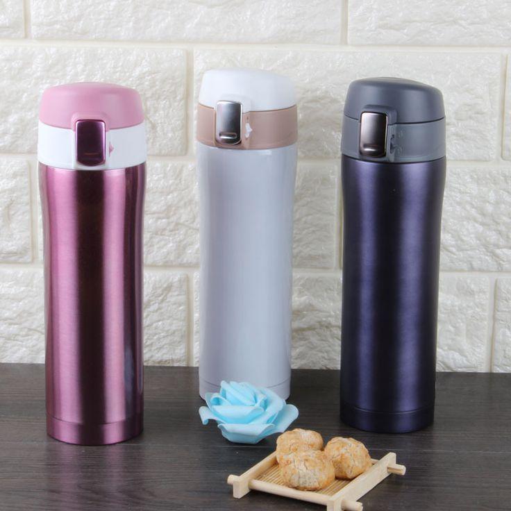Stainless Steel Bounce Vacuum Accompanying Cup Thermos Water Bottle Termos Mug Garrafa Termica Mybottle Kovea Vaso Thermocup