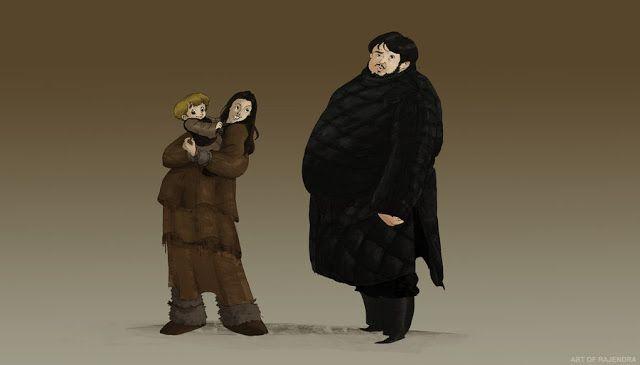Game of Thrones (GOT) example #295: El Espacio Geek: Los personajes de Game of Thrones en caricatura