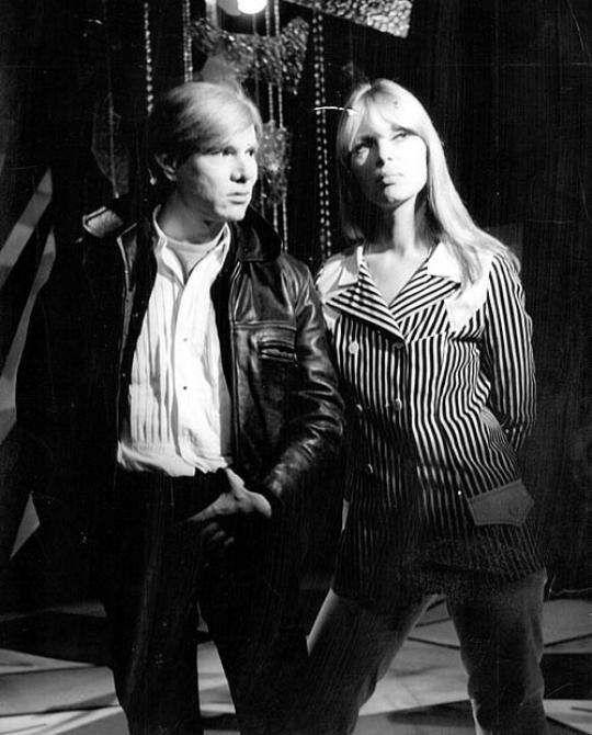 Andy Warhol and Nico  1967