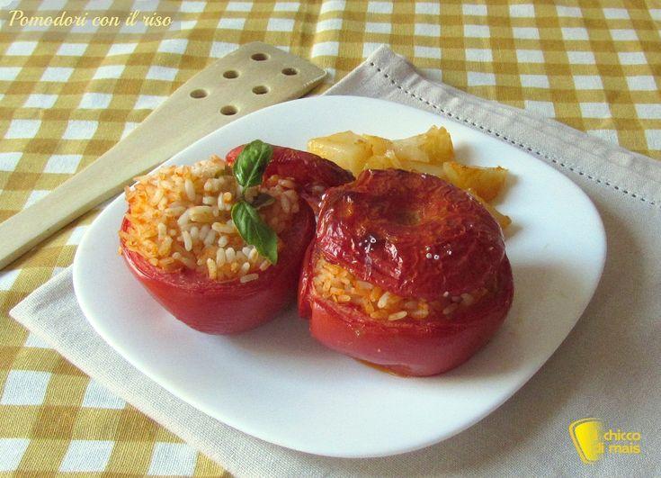 Pomodori con il riso (ricetta romana)