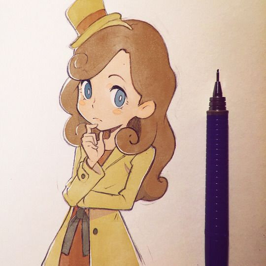 Peofessor Layton Creds: Kuvshinov-Ilya on tumblr