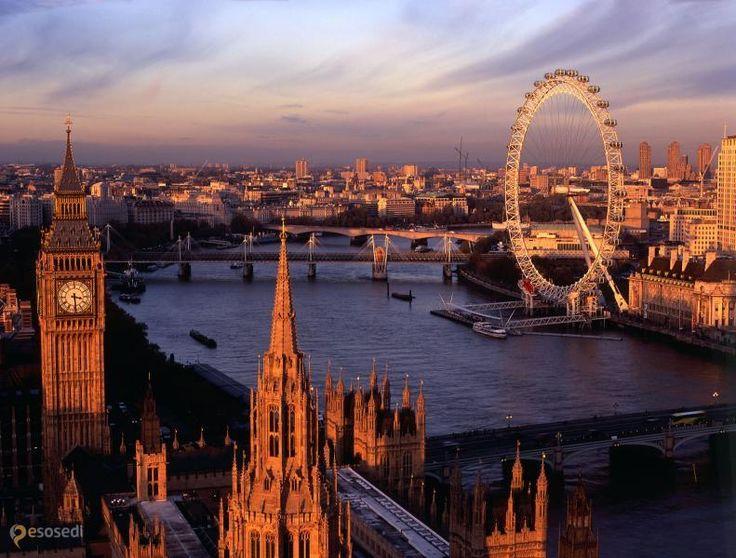 Лондонский глаз (EDF Energy London Eye) – #Великобритания #Англия #Лондон (#GB_ENG) Лондонский глаз - крупнейшее колесо обозрения в мире, и популярнейший аттракцион в Великобритании. http://ru.esosedi.org/GB/ENG/1000088703/londonskiy_glaz_edf_energy_london_eye_/