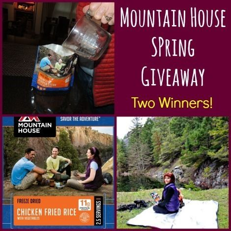 Mountain House Spring Giveaway!   Win a case of Mountain House food!  via www.Backdoor Survival.com