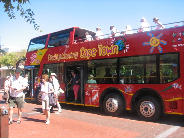 Sightseeing bus, Cape Town