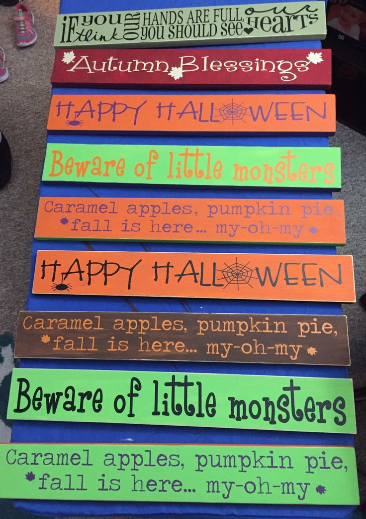 Wonderful Our Make U0026 Take Signs From Our Fun Parties. Homemade By Guests (wooden Board