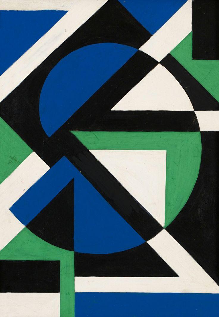 Lars Gunnar Nordstrom green-blue-1954