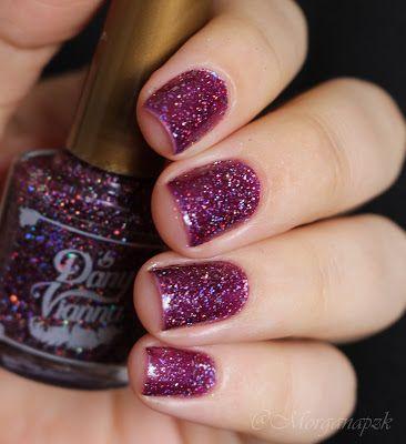 "Esmalte ""Purple Potion"" - Dany Vianna   Glitter   Indie Nail Polish   Esmalte Artesanal   Unhas Roxas   Purple Nails   by @morganapzk"