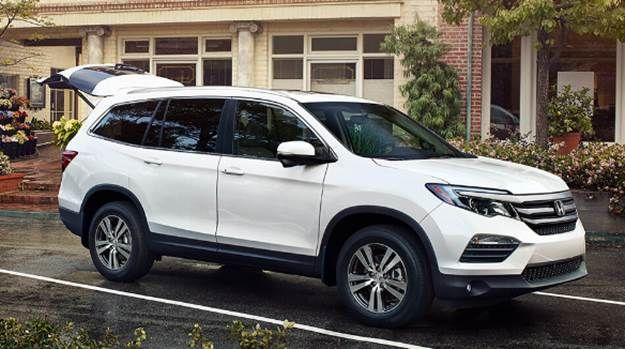 2021 Honda Pilot Redesign Release And Price 2021 Honda Pilot Redesign With A Roomy Interior Excellent Safety Equipment And Carros De Luxo Carros The Hood