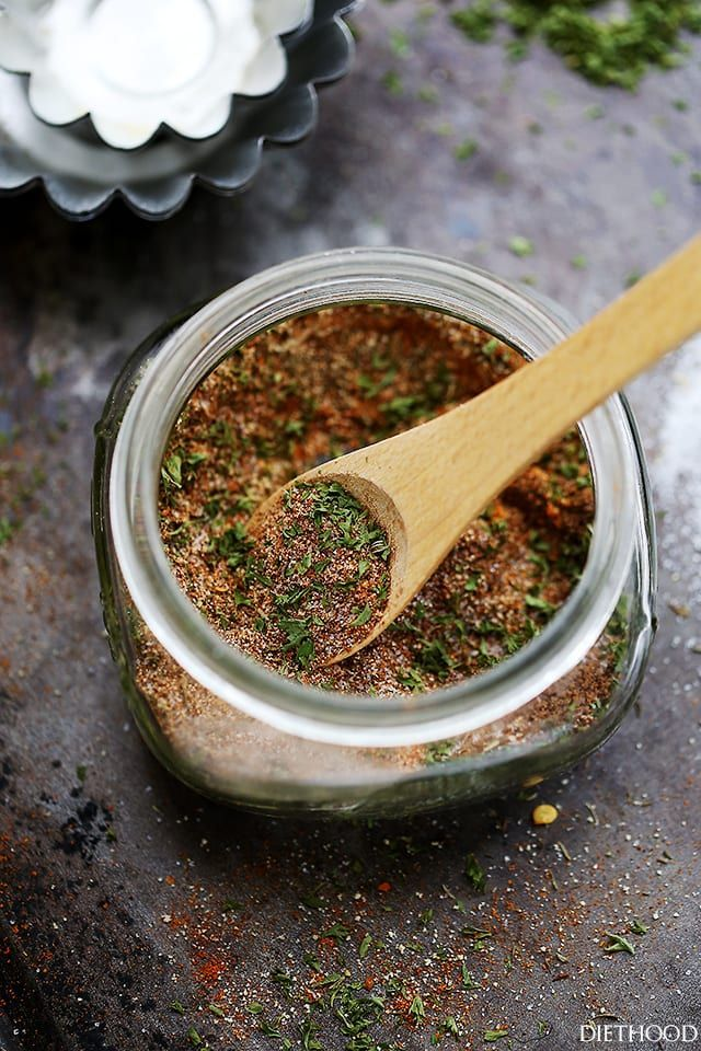 Homemade Jamaican Jerk Seasoning - A spicy, sweet, tangy and hot seasoning for chicken, pork and grilled meat.